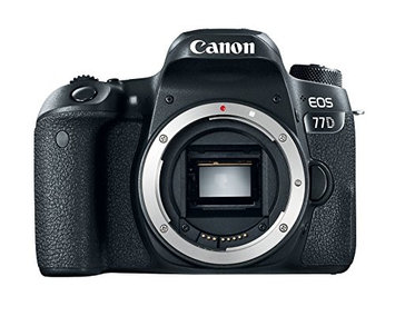Canon EOS 77D 24.2 MP CMOS (APS-C) Digital SLR Camera with Wi-Fi & Bluetooth (Body)