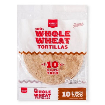 100% Whole Wheat Tortillas 8
