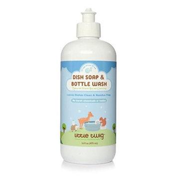Little Twig LTWG-DSFF16-06 16 oz Dish Soap & Bottle Wash Fragrance-Free - Pack of 6