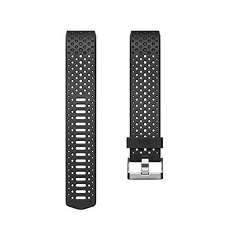 Fitbit Charge 2 Accessory Sport Band, Black, Small