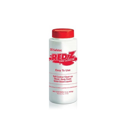Red-z Spill Control Solidifier Red Z Shaker Top Bottle 15 oz. 4 Pack
