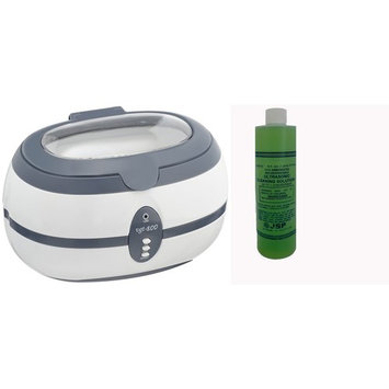 JSP ® 1 PINT TRUE ULTRASONIC CLEANER WITH 1 PINT SPECIAL DETERGENT CONCENTRATE(us65+us110)