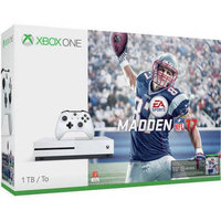 Refurbished Microsoft 234-00025 Xbox One S Madden NFL 17 1TB Bundle