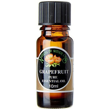 Natural by Nature 10 ml Grapefruit Pure Essential Oil by Natural By Nature Oils