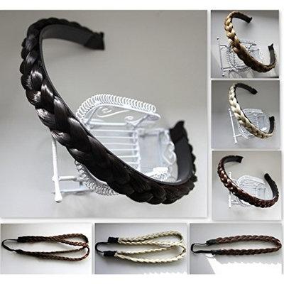 PRETTYSHOP Headband Plaited Braid Hair Band Hair Piece Different Colors