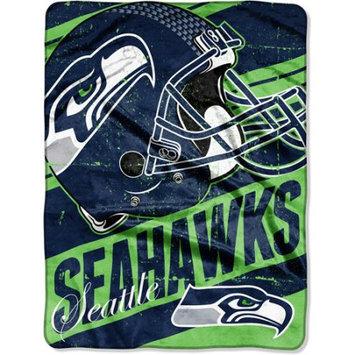 Walmart Inc Northwest Company Seattle Seahawks Micro Raschel Deep Slant Blanket