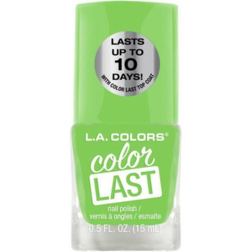 L.A. Colors Color Last Nail Polish, Energy