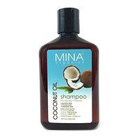 Coconut Oil Moisturizing Shampoo 12 ounce (Paraben FREE) by Mina Organics. Factory Fresh!