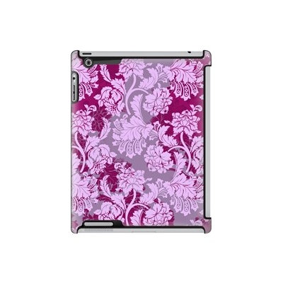 Uncommon LLC Deflector Hard Case for iPad 2/3/4 - Overlay Lace Berry (C0070-MD) (Pack of 5)
