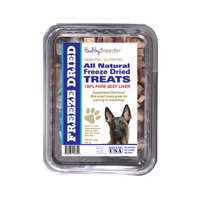 Healthy Breeds 840235147305 10 oz Belgian Malinois All Natural Freeze Dried Treats Beef Liver