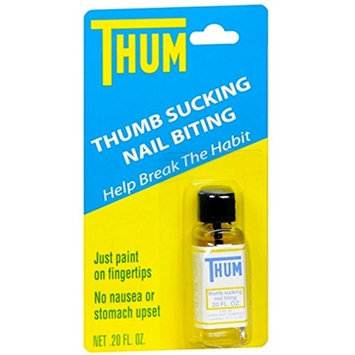 Thum Liquid Stops thumb sucking and nail biting - 0.2 Oz / Pack,