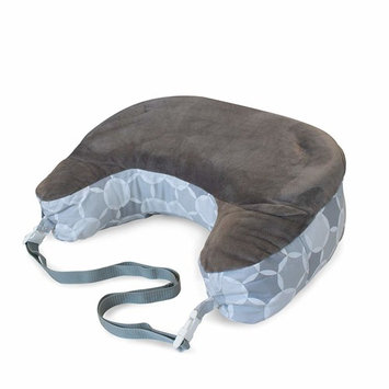 Boppy Best Latch Breastfeeding Pillow, Gray Circles, Two-Sided Nursing Pillow