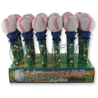 D.M. Merchandising 1949199 Baseball Pop Pen - Case of 64