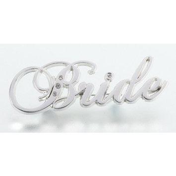 Lillian Rose Rhinestone Crystal Jewel Bride Pin Wedding Party