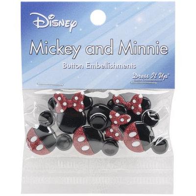 Jesse James Dress It Up Licensed Embellishments-Disney Mickey & Minnie