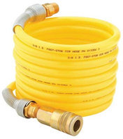 NORTECH N848 Air Supply Hose with Fittings, 12 Ft.