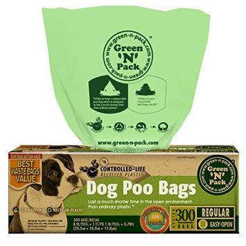Dog Poo Bags, 300 Bags by Green N Pack