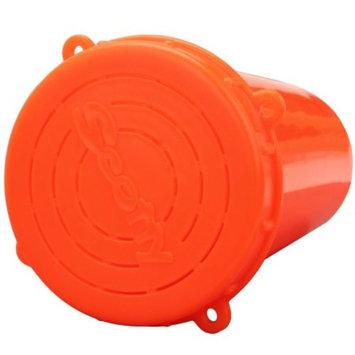 Scotty Crab Diner Bait Jar with Lid 1 Liter, Red