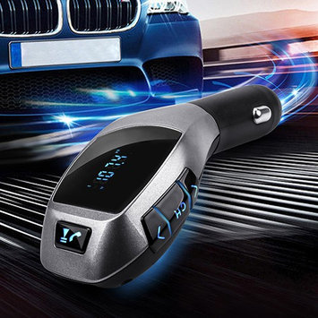 Bluelans Bluetooth Car Kit Mp3 Player FM Transmitter X5 USB TF Charger Handsfree Wireless