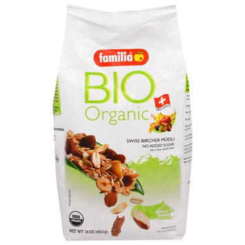 Familia, Bio Organic, Swiss Bircher Muesli, 16 oz (453 g) [Flavor : Swiss Bircher Muesli]