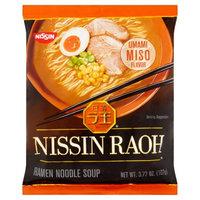NISSIN RAOH Ramen Noodle Soup Miso Flavor 107g