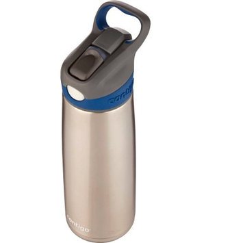 Contigo 20 oz. Sheffield Autospout Stainless Steel Water Bottle - Monaco Blue