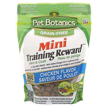 Cardinal Pet Care Pet Botanics Grain-Free Training Rewards Mini Salmon Dog Treat, 4 Oz