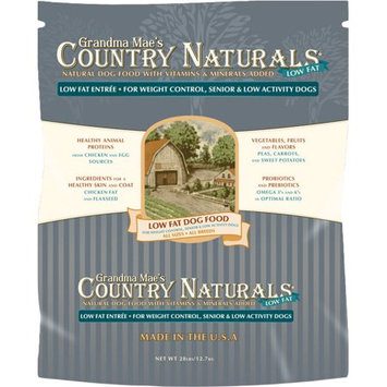 Grandma Mae's Country Naturals Low Fat Senior/Weight Control 28 lbs.