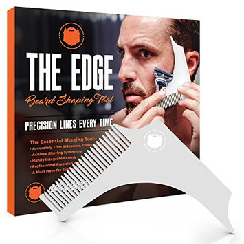 WILD WILLIES BEARD SHAPING TOOL - For shaping and cutting like a professional barber! Use as a template and guide line to give your facial hair and...