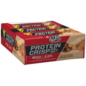 BSN Protein Crisp - SALTED TOFFEE PRETZEL (12 Bars) by BSN at the Vitamin Shoppe