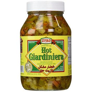 Ziyad Giardiniera Mediterranean Peppers Mix, 32 OZ