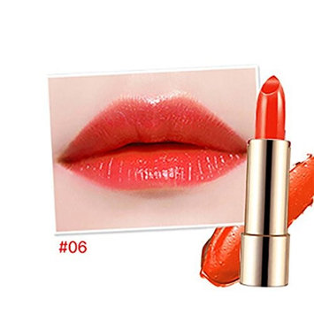 Hot Sales! DEESEE(TM) 6 Color Moisturizing Smooth Gradient Velvet MatteLong Lasting Non-stick Waterproof Flaming Lip Lipstick