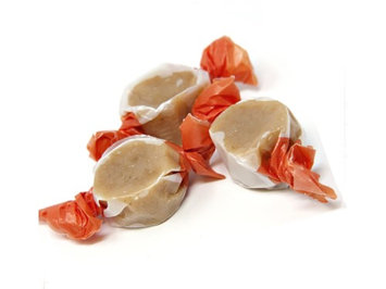 Beulah's Candyland Pumpkin Spice Caramels 1 pound bulk wrapped candy