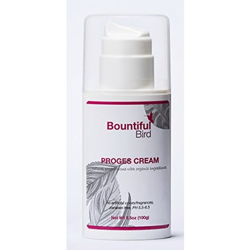Bountiful Bird Organic Herbs Progesterone Cream, 3.5 oz (100 g)