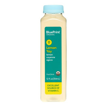 BluePrint Organic Juice Drink, Lemon Yay, 12 Fl Oz, 1 Ct