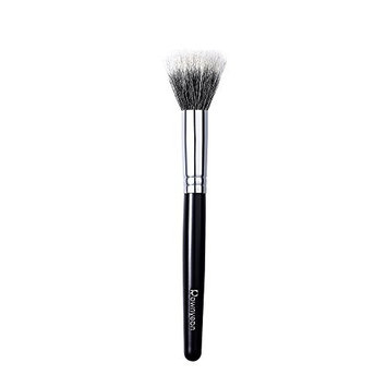 Rownyeon Foundation Brush, Made with Renewable wool, Nickel plated brass tube