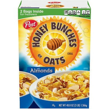 Post Honey Bunches of Oats with Crispy Almonds 48 oz. A1