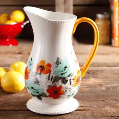 The Pioneer Woman Flea Market 2-Quart Pitcher