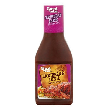 Great Value Caribbean Jerk Marinade, 12.25 fl oz (3 Pack)