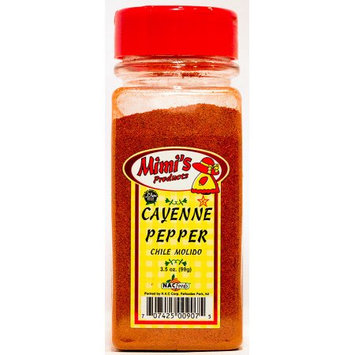 Nac Foods MIMI'S 9.5-CAYENNE PEPPER 12/3.5 OZ