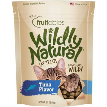 Fruitables® Wildly Natural Cat Treat - Natural, Limited Ingredient, Tuna size: 2.5 Oz