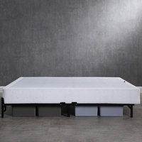 Modern Sleep Hercules Instant Folding Mattress Foundation High-Profile 7.5-Inch Box-Spring Replacement, Multiple Sizes