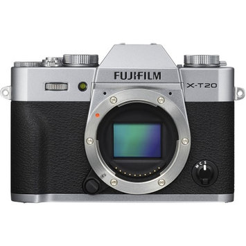 Fujifilm X-T20 Mirrorless Digital Cameras - Body only - Silver