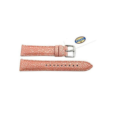 Genuine Fossil Leather 18mm Pink Soft Cecile Watch Strap Band for Women