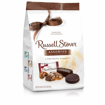 Russell Stover Assorted Chocolates Gusset Bag, 18.4 Ounce Bag