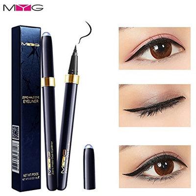MG color cosmetics Fluent Zero dizzy dye Eyeliner pen Non dizzy dyeing Warm water remove makeup