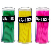 100pcs Cotton Buds, Cotton Swabs for Cosmetic, Baby and Healthcare Needs(Random Color)