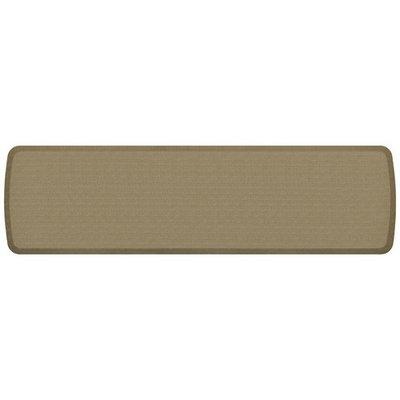 GelPro Elite Linen Sandalwood 20 in. x 72 in. Comfort Kitchen Mat
