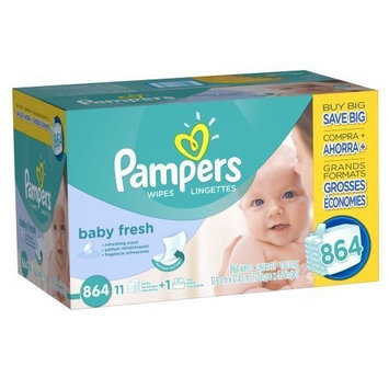 Pampers Soft Care Baby Wipes (864 ct.) by Pampers