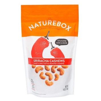 Naturebox Sriracha Cashews - 4oz